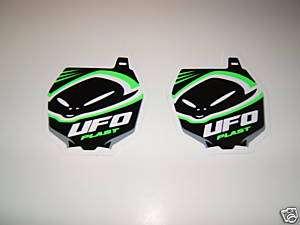 KX 65 85 100 125 250F UFO PLASTICS MOTOCROSS STICKERS |
