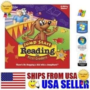 Jump Start 1st Grade Reading Pc