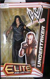 UNDERTAKER WWE MATTEL ELITE SERIES 14 ACTION FIGURE TOY