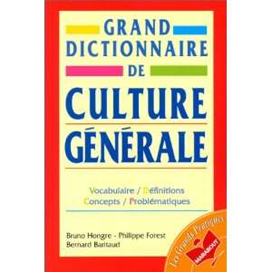 De Culture Generale (French Edition) (9782501026031) Bruno
