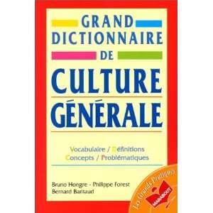 De Culture Generale (French Edition) (9782501026031) Bruno