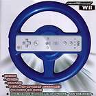 Nintendo Super Mario Kart Wii Blue Racing Wheel