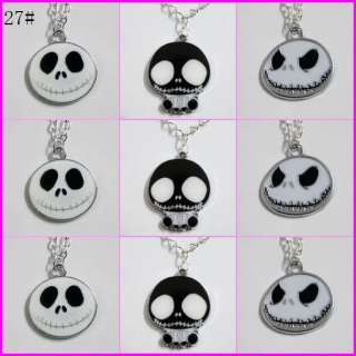Jack Skellington The Nightmare Before Xmas Necklaces Boys Girls Gifts