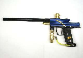 Planet Eclipse Ego 06 Maniac Blue Gold Black Paintball Marker High End