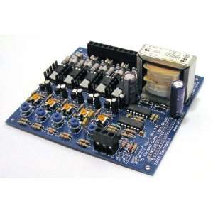 5 Channel Light Organ Kit Electronics