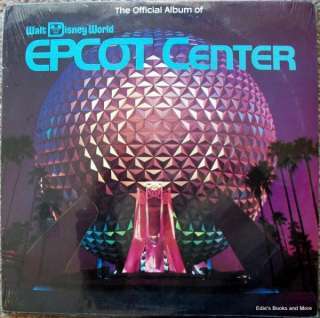 Official Album of Walt Disney World Epcot Center LP NEW SEALED