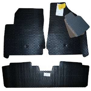 Acura ZDX All Weather Black Floor Mats 2010 2011 2012 High End