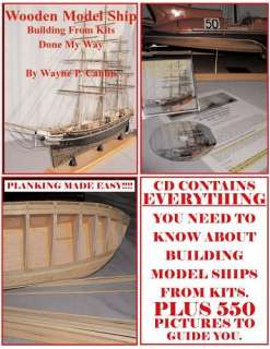 HOW TO BUILD WOODEN MODEL SHIPS FROM KITS.. +550 PHOTOS