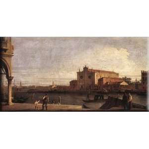 at Murano 30x15 Streched Canvas Art by Canaletto: Home & Kitchen