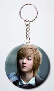 KISS Kevin Woo Korean Singer #1 Key Chain Key Ring