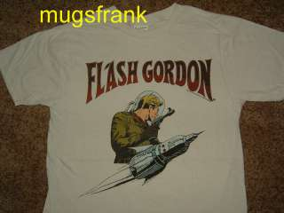 New Flash Gordon Super Hero Rocket T Shirt