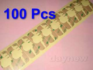 Lot 100 Adhesive Sticker LCD Digitizer 3M iPhone 3g 3gs