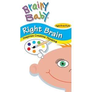 Brainy Baby   Right Brain [VHS] Babies, More Babies