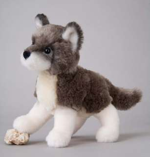 Douglas Toy Plush 7 ASHES GRAY WOLF Stuffed ~NEW~ 767548120217
