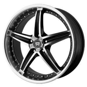 Motegi Racing Series MR107 Gloss Black Finish Machined Wheel (20x8.5