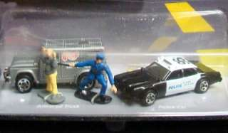 1996 HOT WHEELS ACTION PACK POLICE FORCE