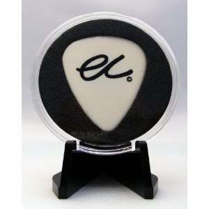 Eric Clapton EC White 2008 Guitar Pick With MADE IN USA Display Case