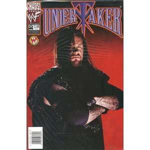 Undertaker Comic #6 Photo Cover   Chaos! Comics (Sept