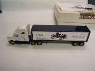 Winross Ford Auto Historical Series #1 Tractor Trailer