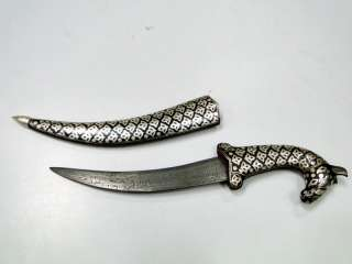 Horse head Knife dagger pure silver wire work LETTER OPENER