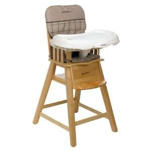 Eddie bauer classic wood baby child toddler high chair harmony