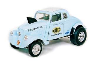 Precision Miniatures 118 1933 Willys Unchopped Gasser  Ohio George