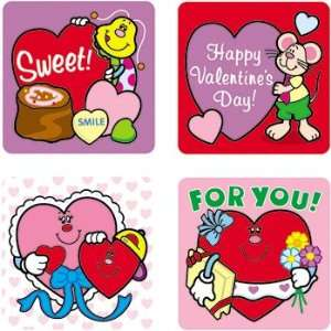 19 Pack CARSON DELLOSA STICKERS VALENTINES DAY 120/PK ACID