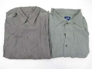 LOT 2 WILKE RODRIGUEZ Mens Button Down Shirts Size L