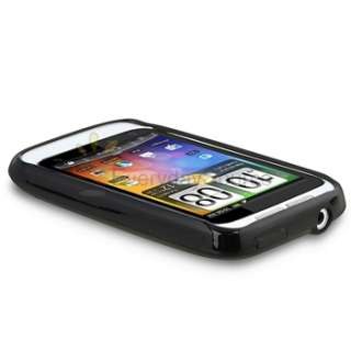 Bundle Case Cover Charger Cable USB Headset For HTC Wildfire S