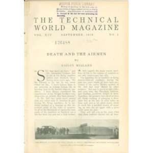 1910 Airplane Accidents Fatal Air Crashes Aviators