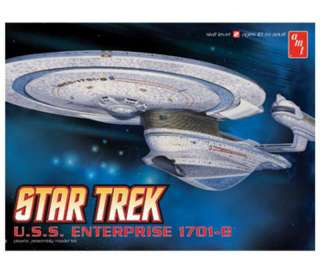 STAR TREK USS ENTERPRISE NCC 1701 B AMT MODEL KIT 676