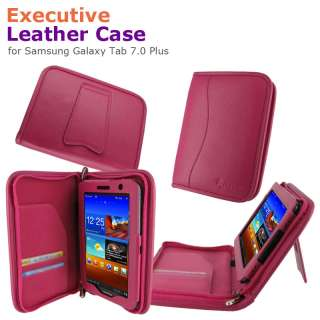 Executive Leather Case Cover for Samsung Galaxy Tab 7.0 Plus Tablet