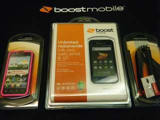 Brand New Boost Mobile LG Marquee SEALED w/ FREE Car charger and PINK