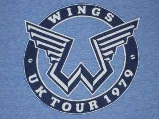 1979 WINGS TOUR VTG T SHIRT the Beatles Paul McCartney