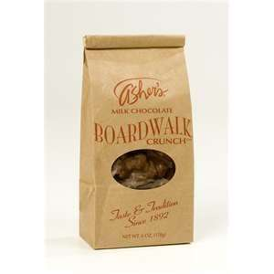 MILK CHOCOLATE BOARDWALK CRUNCH, 6 OZ/BAG, 2 COUNTS