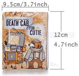 children cute bear cartoon genuine leather Wallet purse gift cutie QM9