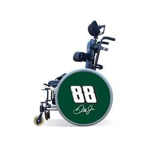 Wheels of Fun Dale Earnhardt, Jr. Green Wheelchair Covers