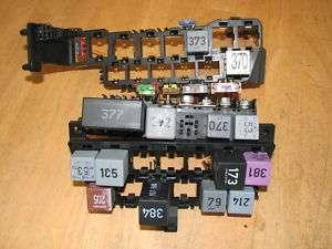 vw vr6 b4 passat jetta golf fuse block relay box 1995