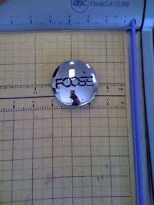 FOOSE Chrome pop In Wheel RIM Center Cap PART#1001 13