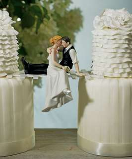 Romantic Wedding  OF LOVE Bride & Groom Couple Cake Decoration