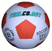 LED Light Up Night Glow Soccer Ball Soccerball