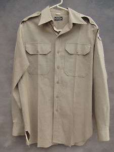 army officers shirt uniform WORSTED WOOL 96th infantry division