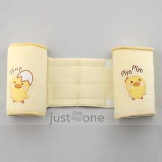 New Cute Baby Toddler Safe Cotton Anti Roll Pillow Sleep Head