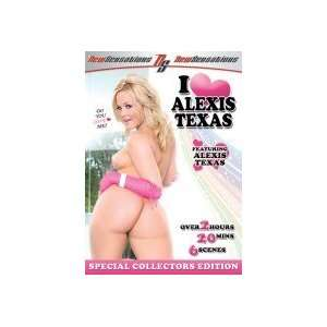 I Love Alexis Texas DVD Everything Else