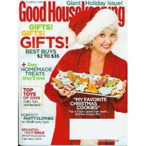 Holiday Issue Paula Deen (Vol. 247 No. 6) Good Housekeeping Books