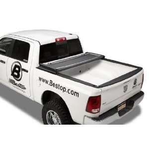 EZ Fold Black Large Tonneau Cover for Dodge RAM 6.4 Bed Automotive