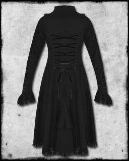 SPIN DOCTOR BLACK STEAMPUNK FLORENCE DRESS JACKET SZ