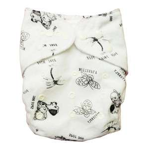 BABY AIO Re Usable CLOTH DIAPERS NAPPY 1 INSERT M10