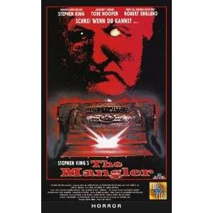 The Mangler [VHS] Robert Englund, Ted Levine, Daniel