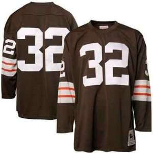 Cleveland Browns Jim Brown Replica Team Color Jersey